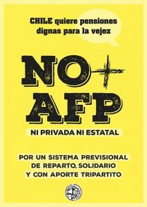 Afiche No+AFP