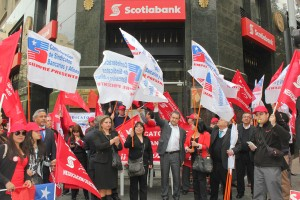 Huelga Scotiabank
