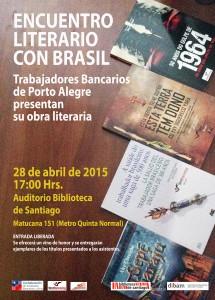 Flyer encuentro literario