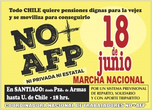 #YoMarchoel18 No+AFP