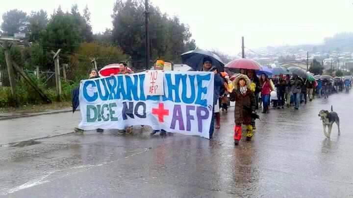 Curanilahue NO+AFP