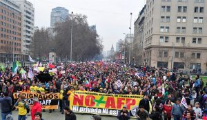 MarchaNO+AFP